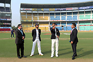 Cricket - India v Sri Lanka 2T D1 at Nagpur