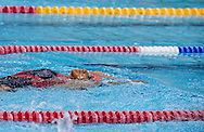 Swimming competition during 2011 Special Olympics World Summer Games Athens on June 27, 2011..The idea of Special Olympics is that, with appropriate motivation and guidance, each person with intellectual disabilities can train, enjoy and benefit from participation in individual and team competitions...Greece, Athens, June 27, 2011...Picture also available in RAW (NEF) or TIFF format on special request...For editorial use only. Any commercial or promotional use requires permission...Mandatory credit: Photo by © Adam Nurkiewicz / Mediasport
