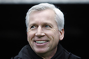 ALAN PARDEW.NEWCASTLE UNITED V READING.NEWCASTLE UNITED V READING, BARCLAYS PREMIER LEAGUE.ST.JAMES PARK, NEWCASTLE, ENGLAND.19 January 2013.GAQ64498..  .WARNING! This Photograph May Only Be Used For Newspaper And/Or Magazine Editorial Purposes..May Not Be Used For Publications Involving 1 player, 1 Club Or 1 Competition .Without Written Authorisation From Football DataCo Ltd..For Any Queries, Please Contact Football DataCo Ltd on +44 (0) 207 864 9121