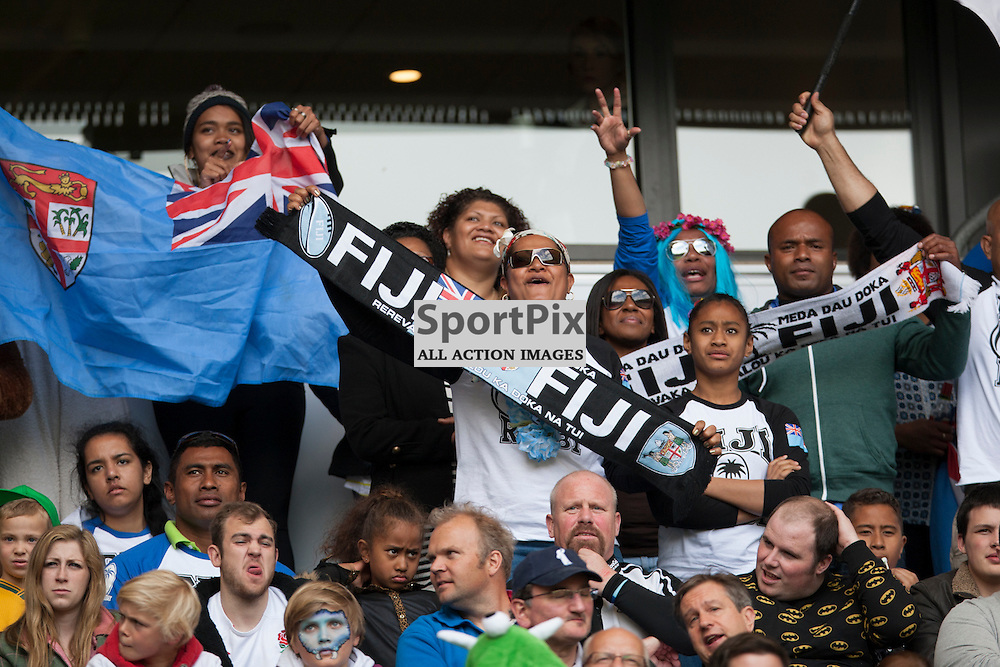 Fiji Fans at the IRB Marriott London Sevens. Twickenham, England.   ......(c) SAM TODD | SportPix.org.uk