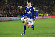 Freddie Sears of Ipswich Town during the Sky Bet Championship match between Hull City and Ipswich Town at the KC Stadium, Kingston upon Hull, England on 20 October 2015. Photo by Ian Lyall.