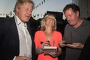 BORIS JOHNSON; RACHEL JOHNSON; PIERS MORGAN, Rachel Johnson book launch of Fresh Hell, Acklam Village Market, Acklam Rd. London W10.