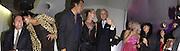 Mario Testino, Kate Moss and Manolo Blahnik in centre, Manolo Blahnik exhibition. Design Museum. 30 Dafydd Jones 66 Stockwell Park Rd. London SW9 0DA Tel 020 7733 0108 www.dafjones.com