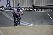 #317 (TOPINKA Dominik) CZE at Round 2 of the 2019 UCI BMX Supercross World Cup in Manchester, Great Britain