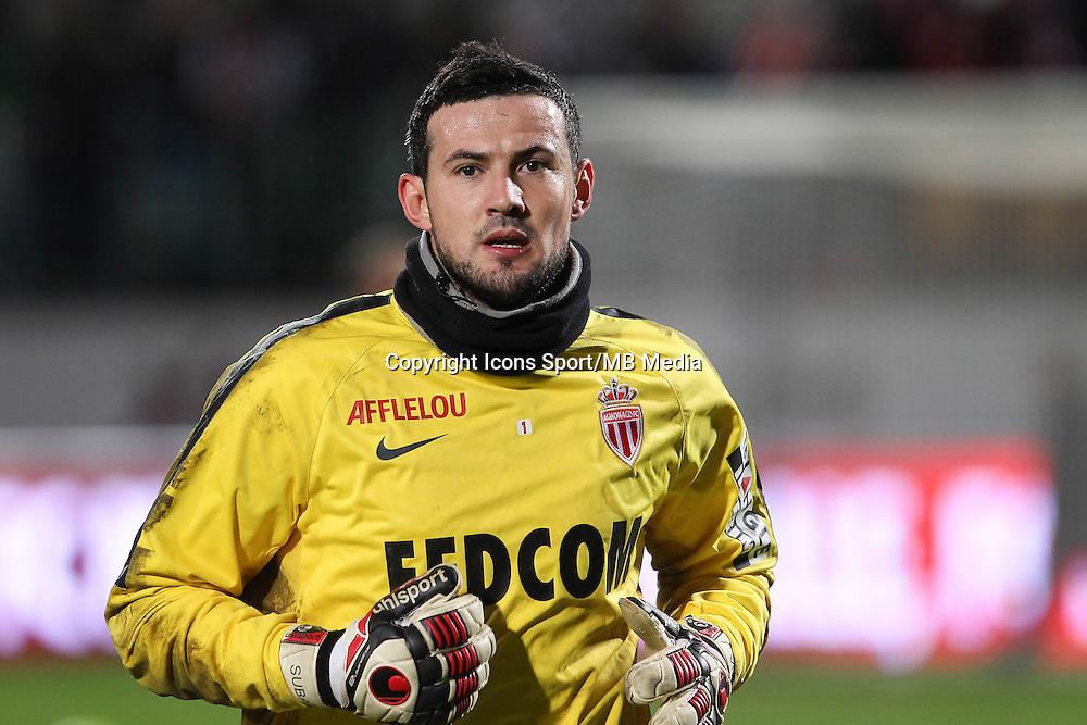 Danijel SUBASIC - 20.12.2014 - Metz / Monaco - 17e journee Ligue 2<br />Photo : Fred Marvaux / Icon Sport