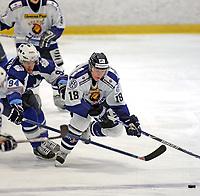 Ishockey , 07. oktober 2007 , GET-Ligan , Furuset - Sparta , Jakub Kraus Sparta , Teemu Kusisto Furuset ,  Foto: Thomas Andersen , Digitalsport