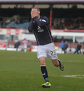Martin Boyle can't believe he's missed a great chance - Dundee v Hamilton, SPFL Championship at <br /> Dens Park<br /> <br />  - &copy; David Young - www.davidyoungphoto.co.uk - email: davidyoungphoto@gmail.com