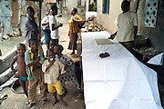 Wax resist dyeing in Nigeria - 2011