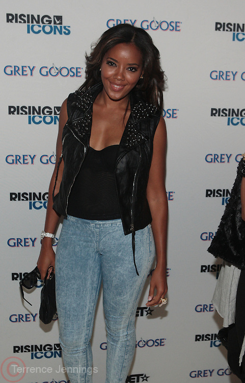 11 September 2010- New York, NY- Angela Simmons at The Rising Icon Series feauturing Jey Cole and DJ Set by Solange Knowles sponsored by Grey Goose held at Capitale on September 11, 2010 in New York City. Photo Credit: Terrence Jennings