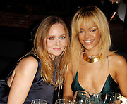 18.FEBRUARY. LONDON<br /> <br /> RIHANNA AND STELLA AT STELLA McCARTNEY'S WINTER 2012 COLLECTION DINNER. <br /> <br /> BYLINE: EDBIMAGEARCHIVE.COM<br /> <br /> *THIS IMAGE IS STRICTLY FOR UK NEWSPAPERS AND MAGAZINES ONLY*<br /> *FOR WORLD WIDE SALES AND WEB USE PLEASE CONTACT EDBIMAGEARCHIVE - 0208 954 5968*