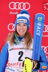 26.01.2018, Lenzerheide, SUI, FIS Weltcup Ski Alpin, Lenzerheide, alpine Kombination, Damen, Flower Zeremonie, im Bild Marta Bassino (ITA) // Marta Bassino from Italie during the Flowers ceremony for the women's Alpine combination of FIS Ski Alpine World Cup in in Lenzerheide, Austria on 2018/01/26. EXPA Pictures © 2018, PhotoCredit: EXPA/ Sammy Minkoff<br /> <br /> *****ATTENTION - OUT of GER*****