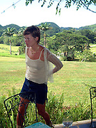 Kate Moss in Jamaica 2001