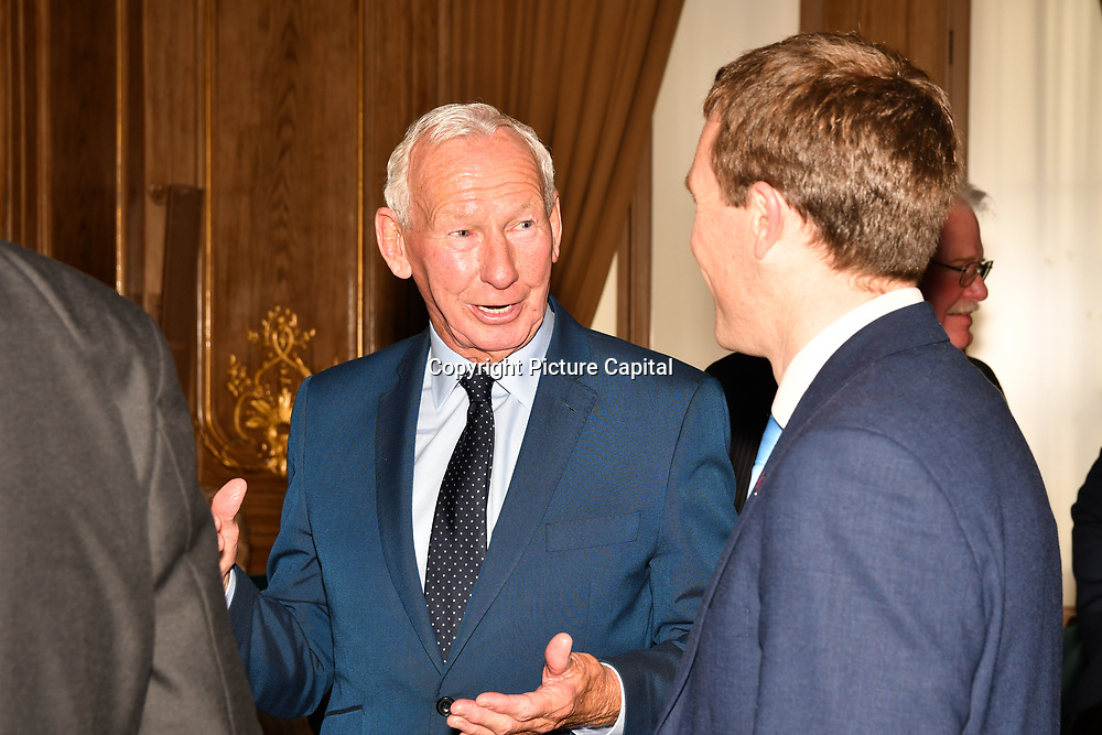 Bob Wilson attend the 7th annual Churchill Awards honour achievements of the Over 65's at Claridge's Hotel on 10 March 2019, London, UK.