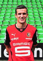 Romain DANZE - 19.09.2013 - Photo officielle - Rennes - Ligue 1<br /> Photo : Philippe Le Brech / Icon Sport