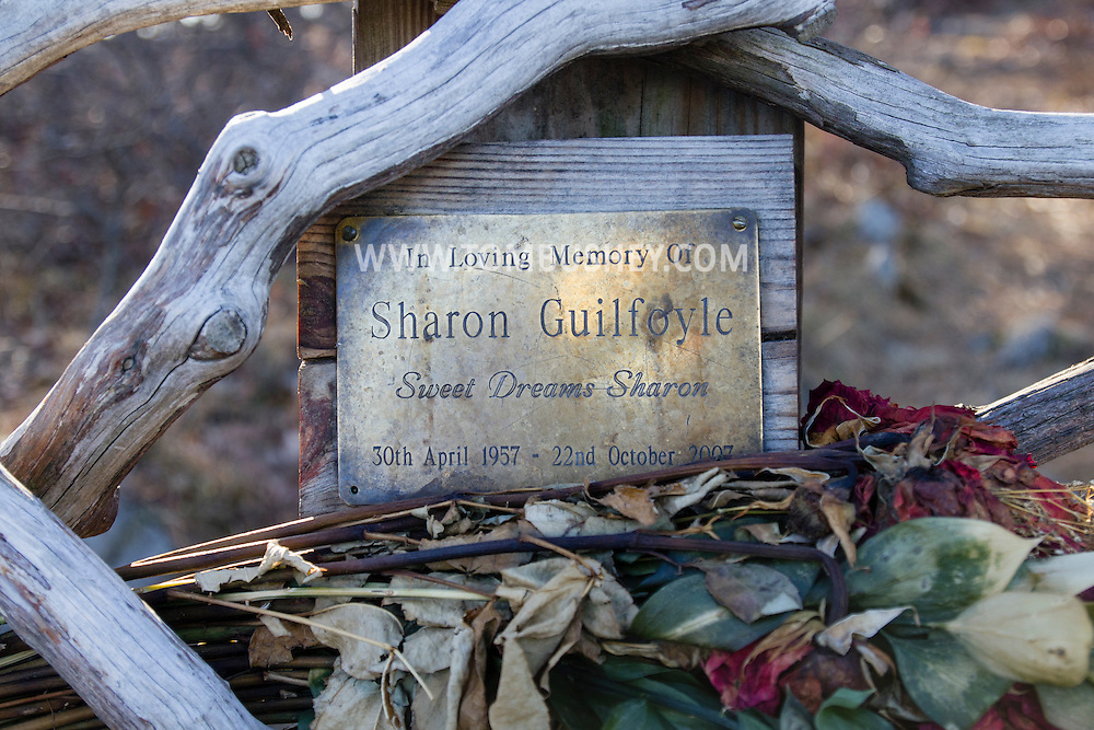 Cornwall, New York - The bench is dedicated in memory of Sharon Guilfoyle.