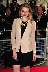 Amber Atherton during 'Summer In February' Gala Screening<br /> London, United Kingdom<br /> Monday, 10th June 2013<br /> Picture by Nils Jorgensen / i-Images