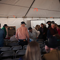 03/24/18     Daniel Zollinger<br /> <br /> During the annual Civil War Encampment held by the Pecos National Historical Park, a plaque dedicated to Lt. Manuel Antonio Chavez was presented as a memorial to Chavez and others who fought alongside him during the Battle of Glorieta Pass (March 26-28, 1862) The event is held to help facilitate education of the Civil war fighters in New Mexico as well as to give a glimpse into life at the time.