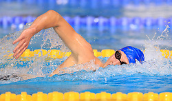 Daniel Jervis competes in the Men's Open 1500m Freestyle during day three of the 2017 British Swimming Championships at Ponds Forge, Sheffield.