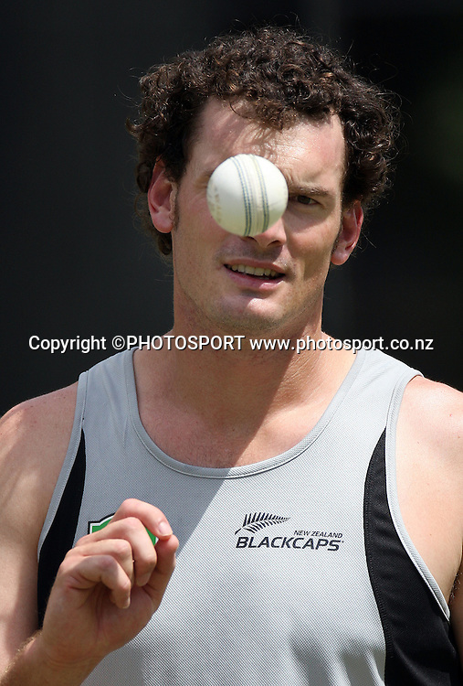 New Zealand all rounder Kyle Mills.<br />