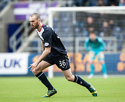 Falkirk's Joe Chalmers.<br /> Falkirk 1 v 0 Queen of the South, Scottish Championship game today at the Falkirk Stadium.<br /> &copy; Michael Schofield.