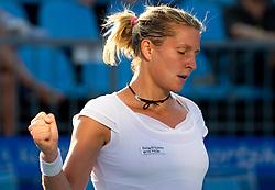 Maria Elena Camerin of Italy at 2nd Round of Singles at Banka Koper Slovenia Open WTA Tour tennis tournament, on July 22, 2010 in Portoroz / Portorose, Slovenia. (Photo by Vid Ponikvar / Sportida)