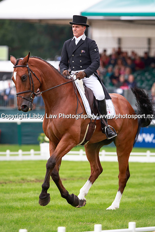 NZL-Blyth Tait rides Bear Necessity during the CCI4* Second Day of Dressage at the 2016 Land Rover Burghley Horse Trials (Interim-9TH). Friday 2 September. Copyright Photo: Libby Law Photography
