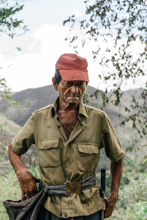 Rubiel Guerrero Rodriguez, 70, a resident of Calentura Arriba a village near Humbolt National Park, said he hadn't seen any ivory-billed woodpeckers since the early 70s when he saw them in Cayo Probedo, the same spot where Tim Gallagher and Martjan Lammertink camped.