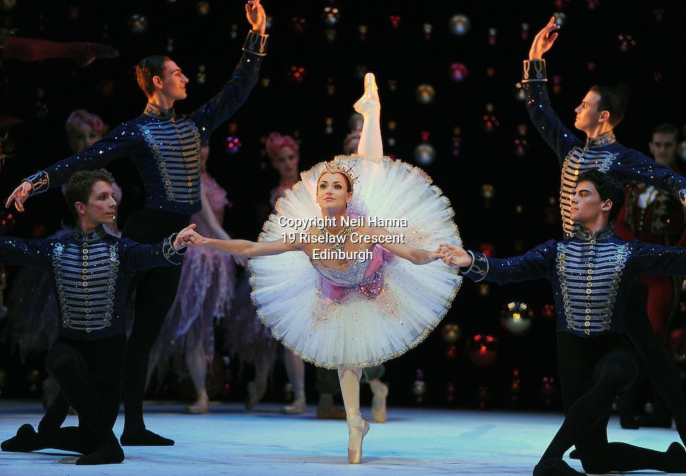 JP License<br /> Festival Theatre, Edinburgh<br /> <br /> Scottish Ballet - The Nutcracker Dress Rehearsal.<br /> <br />  Sophie Martin as  The Sugar Plum Fairy<br /> <br />  Neil Hanna Photography<br /> www.neilhannaphotography.co.uk<br /> 07702 246823
