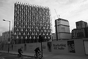 Development in Vauxhall near the new U.S. Embassy, Nine Elms, London. 13 January 2018