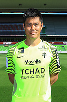 Eiji Kawashima poses for a portrait during the Metz squad photo call for the 2016-2017 Ligue 1 season on September 15, 2016 in Metz, France<br /> Photo : Fred Marvaux / Icon Sport