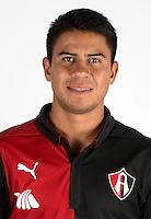 Mexico League - BBVA Bancomer MX 2014-2015 -<br /> Rojinegros - Club Atlas de Guadalajara Fc / Mexico - <br /> Juan Carlos Medina Aragon