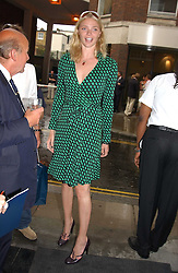 JODIE KIDD at an exhibition of photographs featuring Maserati cars held at the Michael Hoppen Gallery, 3 Jubilee Place, London SW3 on 13th July 2005.<br /><br />NON EXCLUSIVE - WORLD RIGHTS