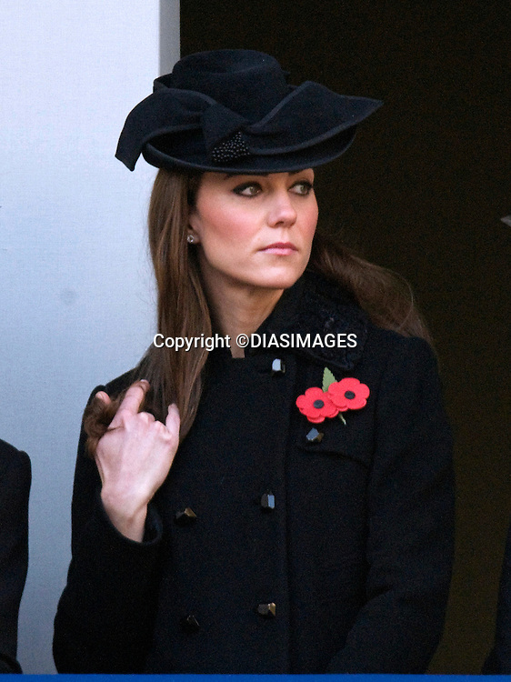 """CATHERINE, DUCHESS OF CAMBRIDGE AND CAMILLA, DUCHESS OF CORNWALL, REMEMBRANCE SERVICE.Kate's attended her 1st Remembrance Service with members of the Royal Family at the Cenotaph, London_13th November 2011.Photo Credit Mandatory: ©Dias/DIASIMAGES..Mandatory credit photo:©DIASIMAGES(Failure to credit will incur a surcharge of 100% of reproduction fees)..**ALL FEES PAYABLE TO: """"NEWSPIX  INTERNATIONAL""""**..IMMEDIATE CONFIRMATION OF USAGE REQUIRED:.DiasImages, 31a Chinnery Hill, Bishop's Stortford, ENGLAND CM23 3PS.Tel:+441279 324672  ; Fax: +441279656877.Mobile:  07775681153.e-mail: info@newspixinternational.co.uk"""