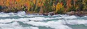 Autumn, AuTrain, MI, Lake Superior, Panorama