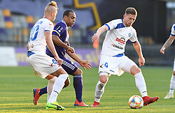 Lovro Cvek of Celje and Marcos Magno Morales Tavares of Maribor in action during football match between NK Maribor and NK Celje in Round #24 of Prva liga Telekom Slovenije 2018/19, on March 30, 2019 in stadium Ljudski vrt, Maribor, Slovenia. Photo by Milos Vujinovic / Sportida