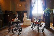 France, Loir-et-Cher, cheverny Château de cheverny Child's bedroom
