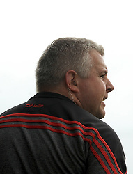 Mayo manager Stephen Rochford issues instructions from the sideline.<br /> Pic Conor McKeown