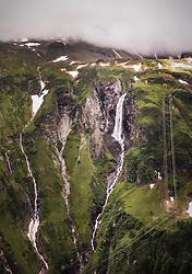 THEMENBILD - ein Wasserfall am Hintersee, aufgenommen am 23. Juni 2019 in Mittersill, Österreich // a waterfall at the Hintersee, Mittersill, Austria on 2019/06/23. EXPA Pictures © 2019, PhotoCredit: EXPA/ JFK