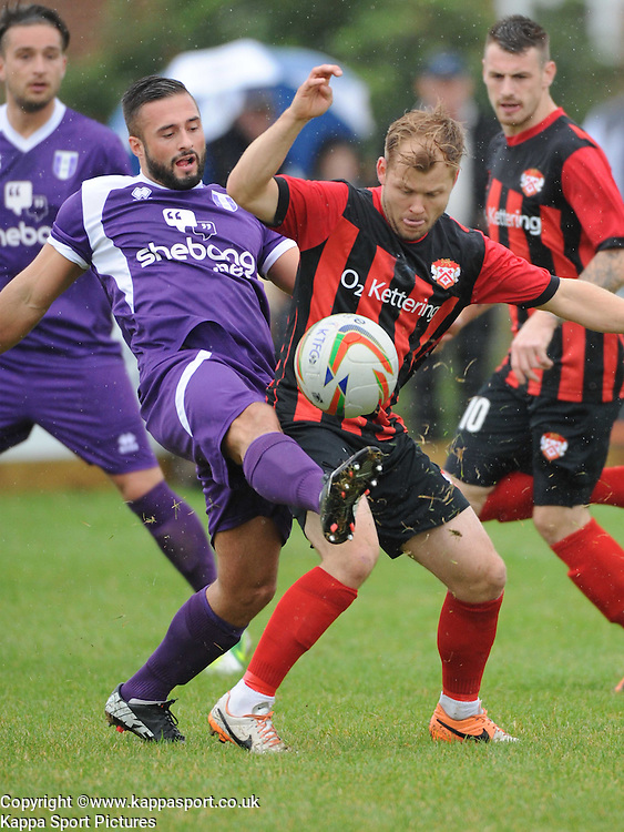 Ketterings Andy Hall, Kettering Town v Daventry Town Southern League Division One Central, 25th August 2014