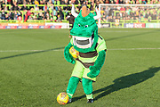 The Green Devil during the EFL Sky Bet League 2 match between Forest Green Rovers and Morecambe at the New Lawn, Forest Green, United Kingdom on 17 November 2018.