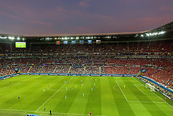 LYON, FRANCE - Wednesday, July 6, 2016: A general view of the Stade de Lyon during the UEFA Euro 2016 Championship Semi-Final match between Portugal and Wales. (Pic by Paul Greenwood/Propaganda)