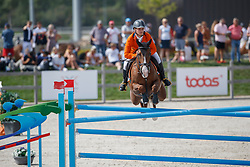 Peters Sven, NED, Channel<br /> Juniors European Championships Jumping <br /> Samorin 2017© Hippo Foto - Dirk Caremans<br /> 11/08/2017