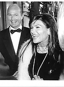 Mouna Al Rashid and Prince Dmitri of Yugoslavia. NY. 1995 approx. © Copyright Photograph by Dafydd Jones 66 Stockwell Park Rd. London SW9 0DA Tel 020 7733 0108 www.dafjones.com