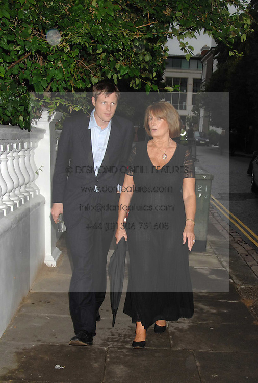 ZAC GOLDSMITH and LADY ANNABEL GOLDSMITH at the annual Sir David & Lady Carina Frost Summer Party in Carlyle Square, London SW3 on 5th July 2007.<br /><br />NON EXCLUSIVE - WORLD RIGHTS