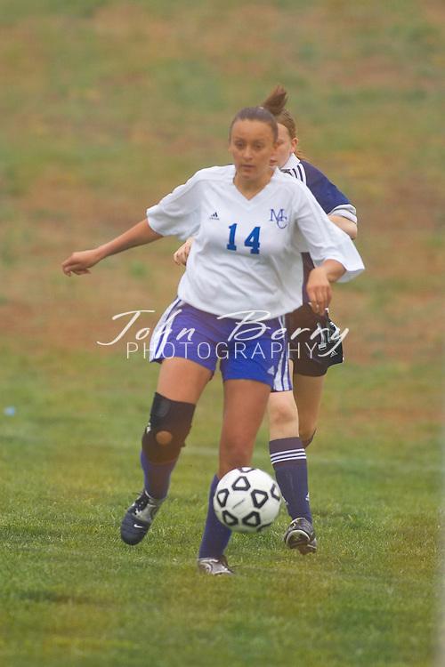 MCHS Varsity Soccer vs Rappahannock on Friday, April 22, 2005.  Madison won 5-0.