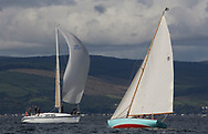 Largs Regatta Festival 2018<br /> <br /> Day 1- 9, Gigha, Scott Raeburn, Kyles of Bute SC, Scottish Island Class<br /> <br /> Images: Marc Turner