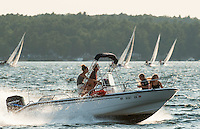 Winnipesaukee Yacht Club J80 race August 30, 2012.