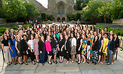 Photo by Mara Lavitt<br /> June 17, 2019<br /> Cross Campus, Yale University<br /> <br /> The 25th class of the Women's Campaign School at Yale.