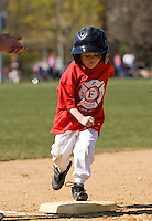 Laconia Little League Opening Day Tee Ball game April 24, 2010.