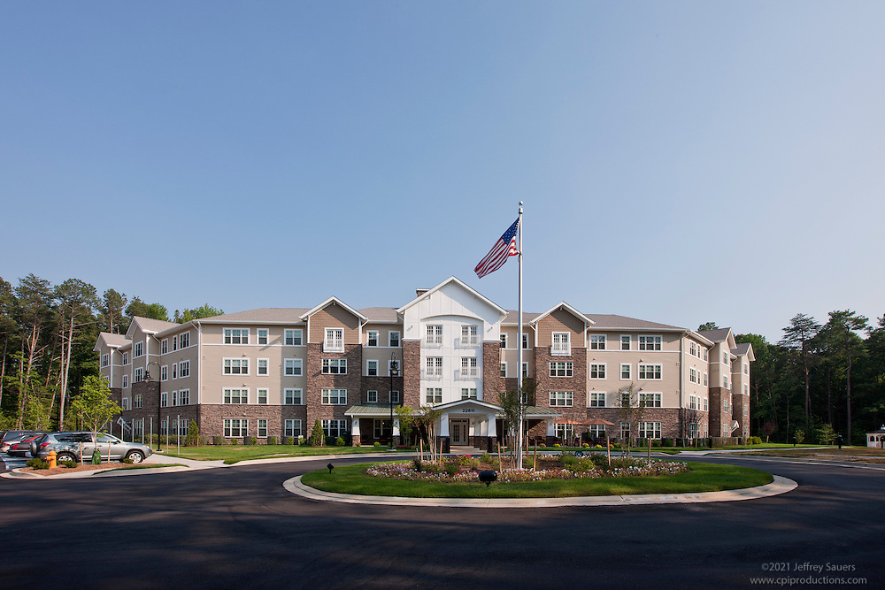Lexington Park Senior Living Center Victory Woods by Archietctural Photographer Jeffrey Sauers